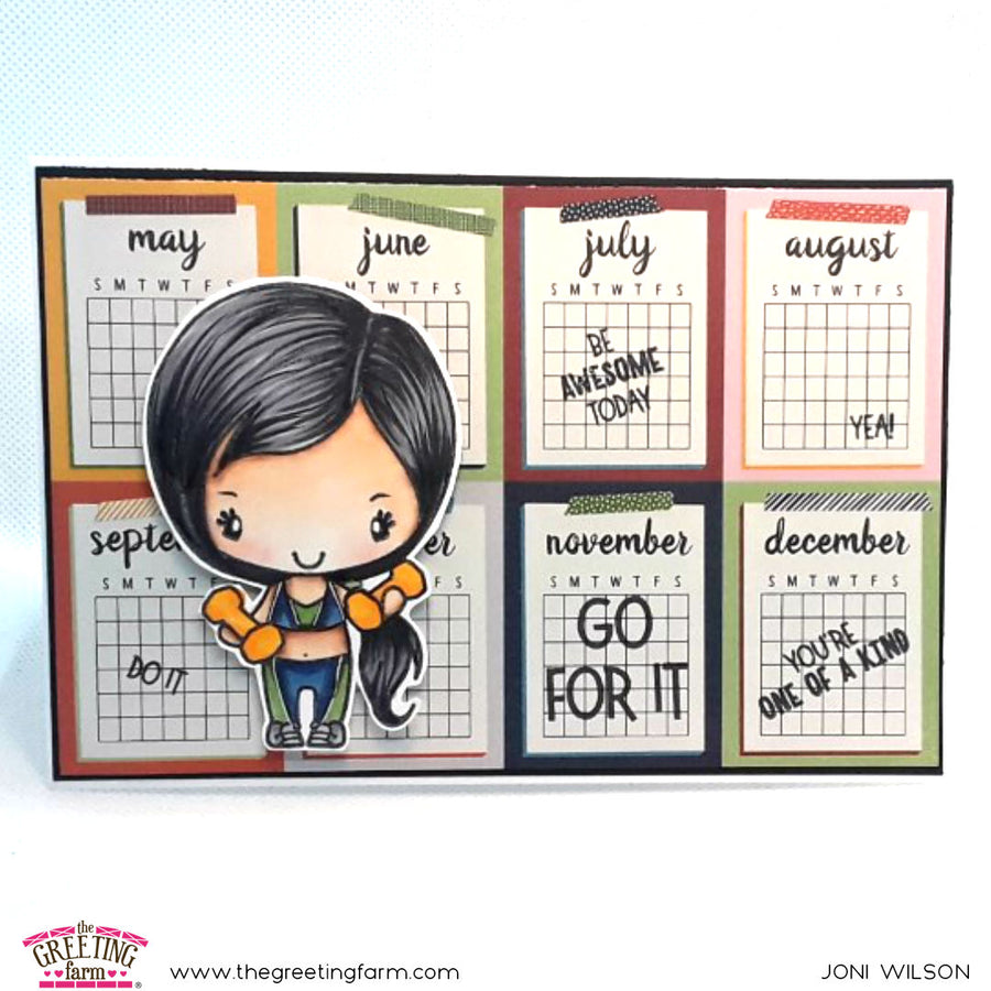 Stamp Feature: Go For It Anya