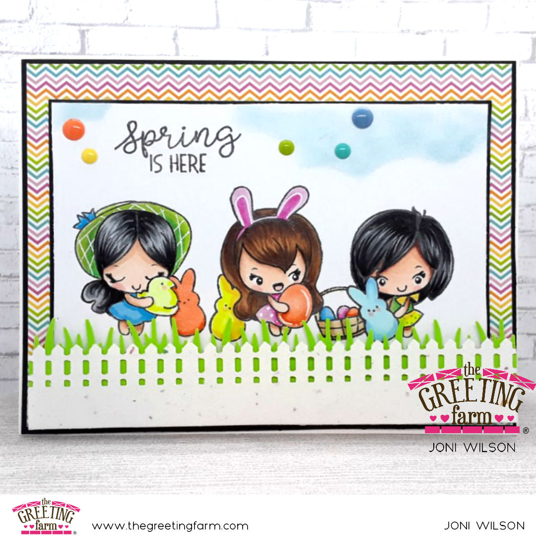 Stamp Feature: Happy Easter