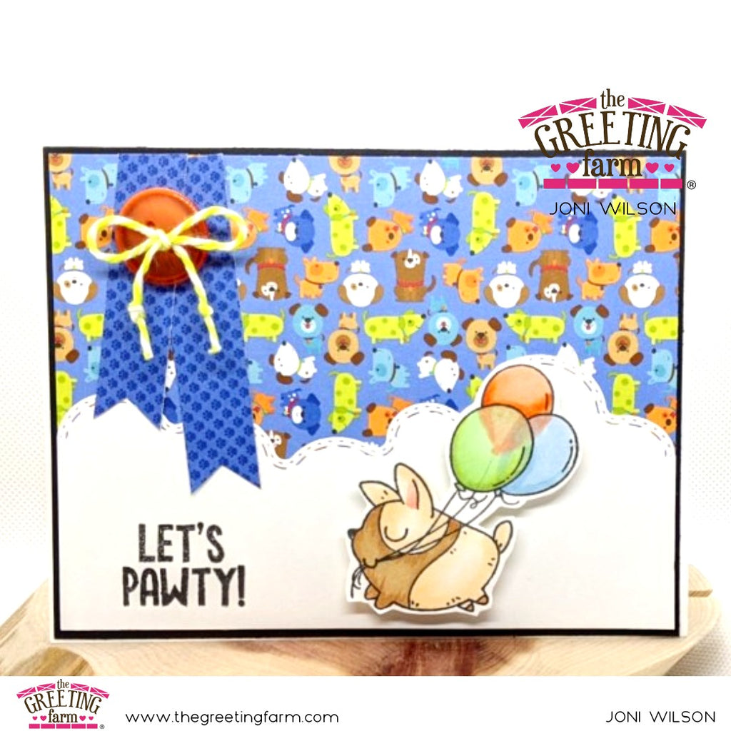 Stamp Feature: Let's Pawty