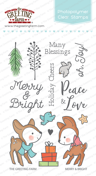 Merry & Bright - Clear