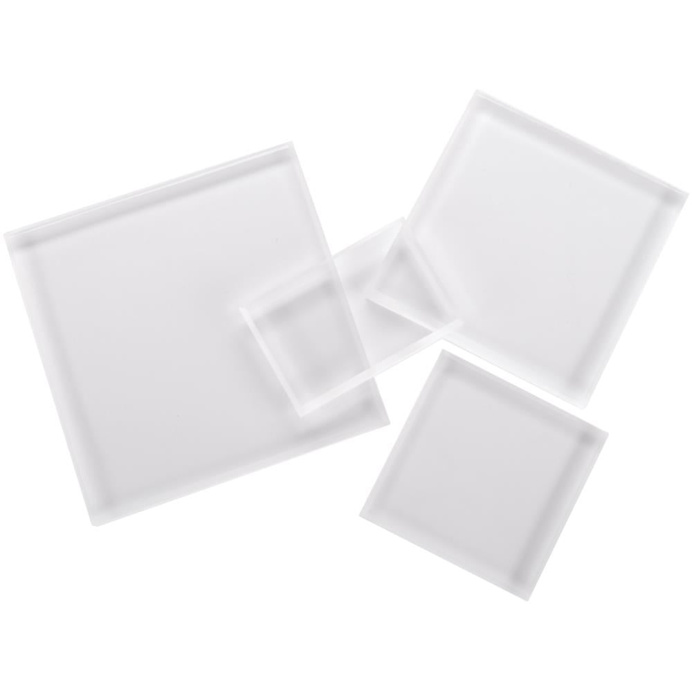 4 Acrylic Stamp Block set