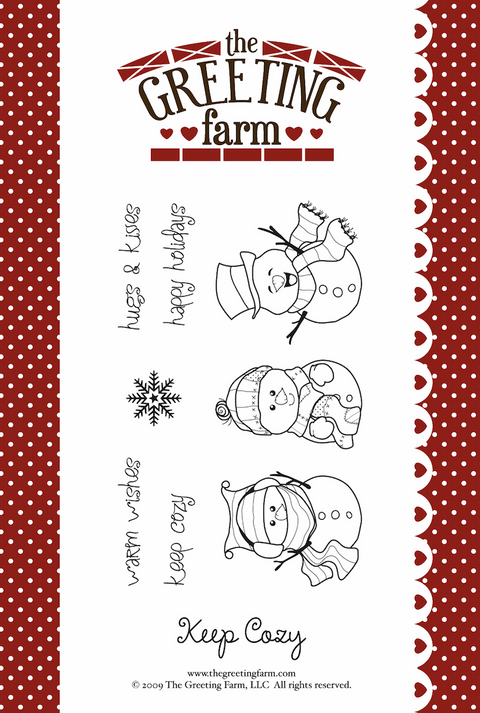 Keep Cozy - Rubber Stamp Set