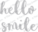 Hello & Smile - Die Cuts