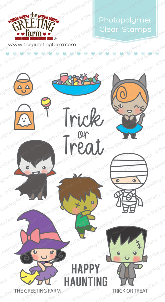 Trick or Treat - Clear