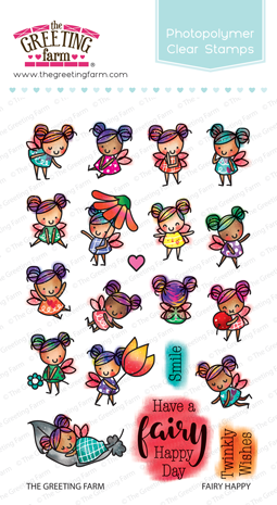 Fairy happy fairy clear stamps the greeting farm m4hsunfo
