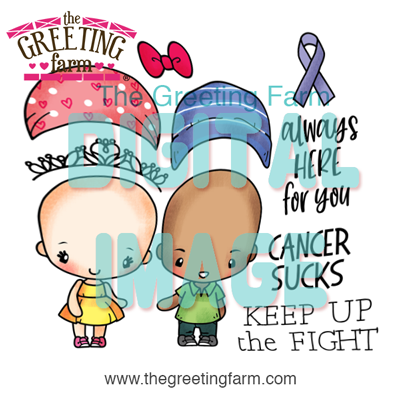Fight Cancer - digi set