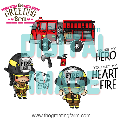 Firefighters - digi set