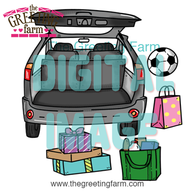 SUV Trunk - digi set