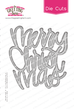 Merry Christmas - Word Die Cut