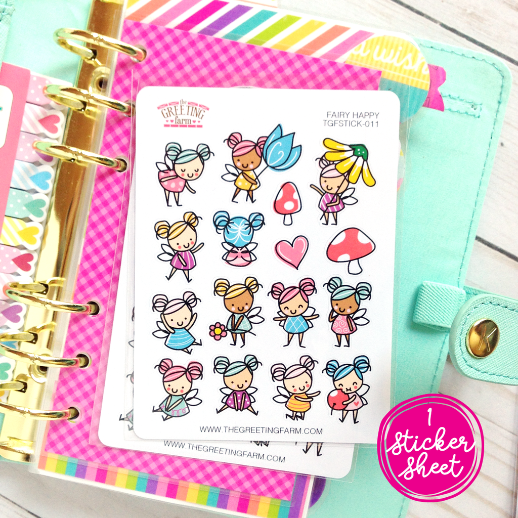 Fairy Happy - Stickers