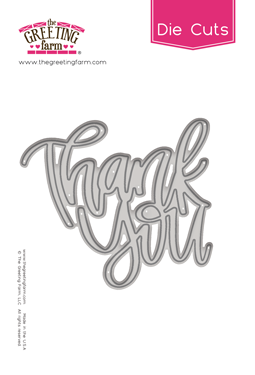 Thank You - Word Die Cut
