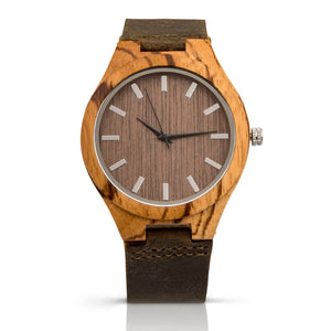 The Burton Zebrawood | Wood Watch