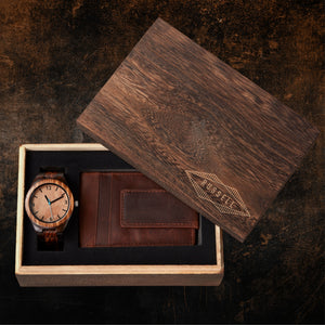 Personalized Wooden Gift Box - Diamond