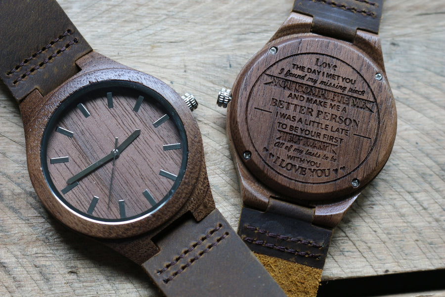 """All My Lasts"" - Wood Watch 