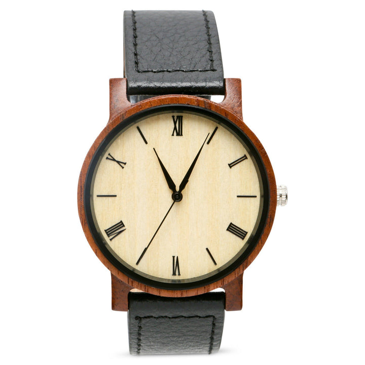 Anderson Walnut | Set of 4 Mens Watches Grain and Oak