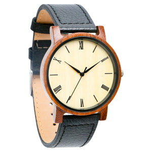 Anderson Walnut | Set of 6 Groomsmen Watches Grain and Oak