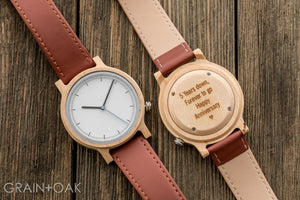 Atlas Maple | Set of 5 Groomsmen Watches Grain and Oak