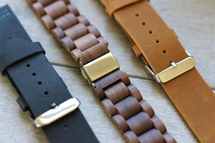 Replacement Watch Band Grain and Oak