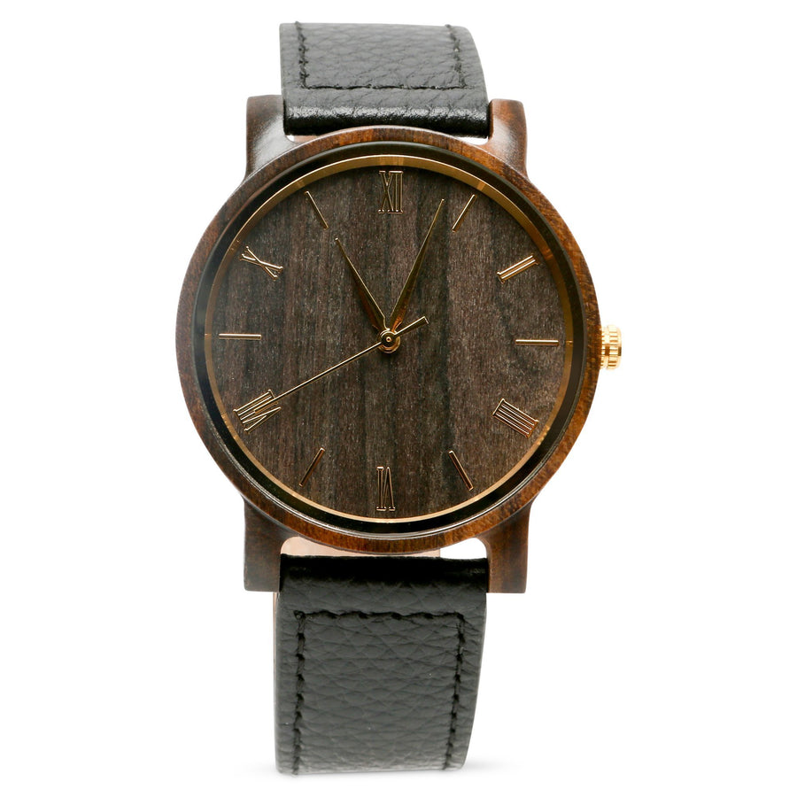 The Anderson Ebony | Set of 9 Mens Watches Grain and Oak