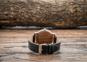 The Anderson Walnut | Set of 11 Groomsmen Watches Grain and Oak