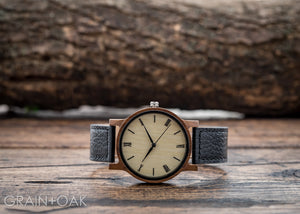 The Anderson Walnut | Set of 12 Groomsmen Watches Grain and Oak