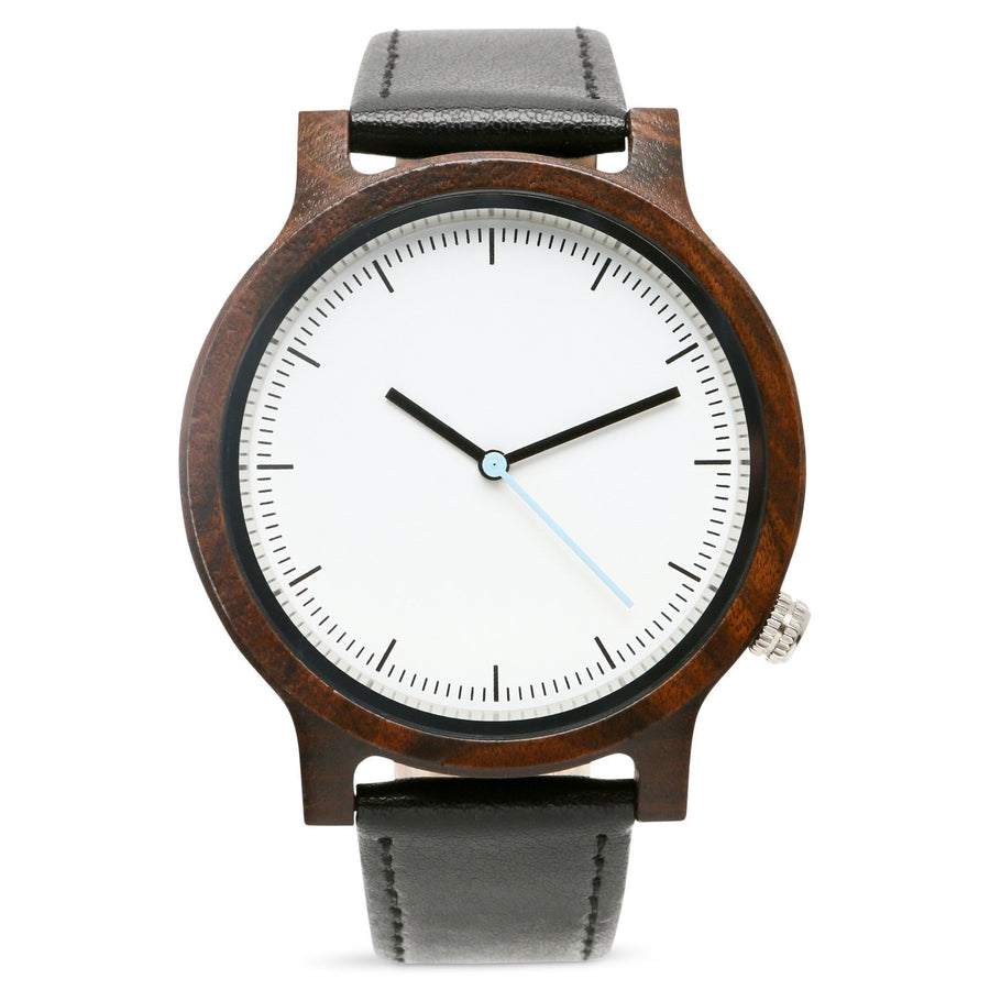The Atlas Ebony | Set of 7 Groomsmen Watches Grain and Oak