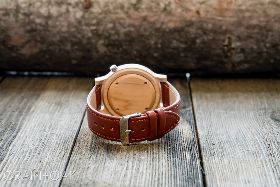 The Atlas Maple | Set of 10 Groomsmen Watches Grain and Oak