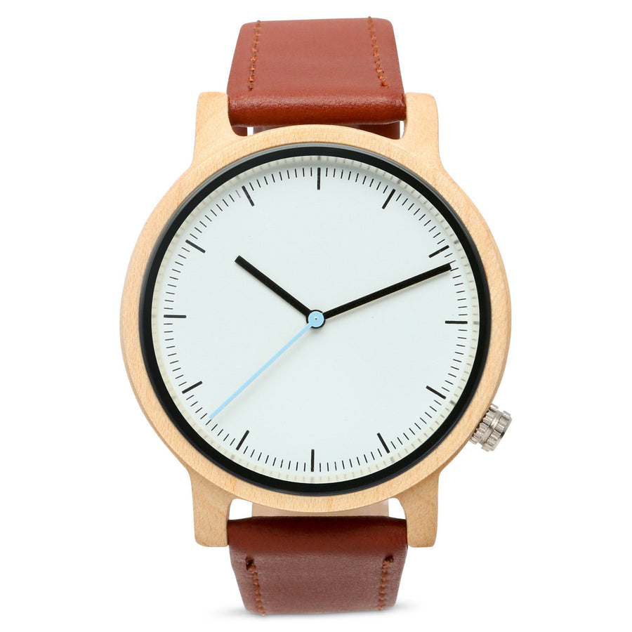 The Atlas Maple | Set of 8 Groomsmen Watches Grain and Oak
