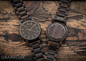 The Bentlee | Set of 4 Groomsmen Watches Grain and Oak