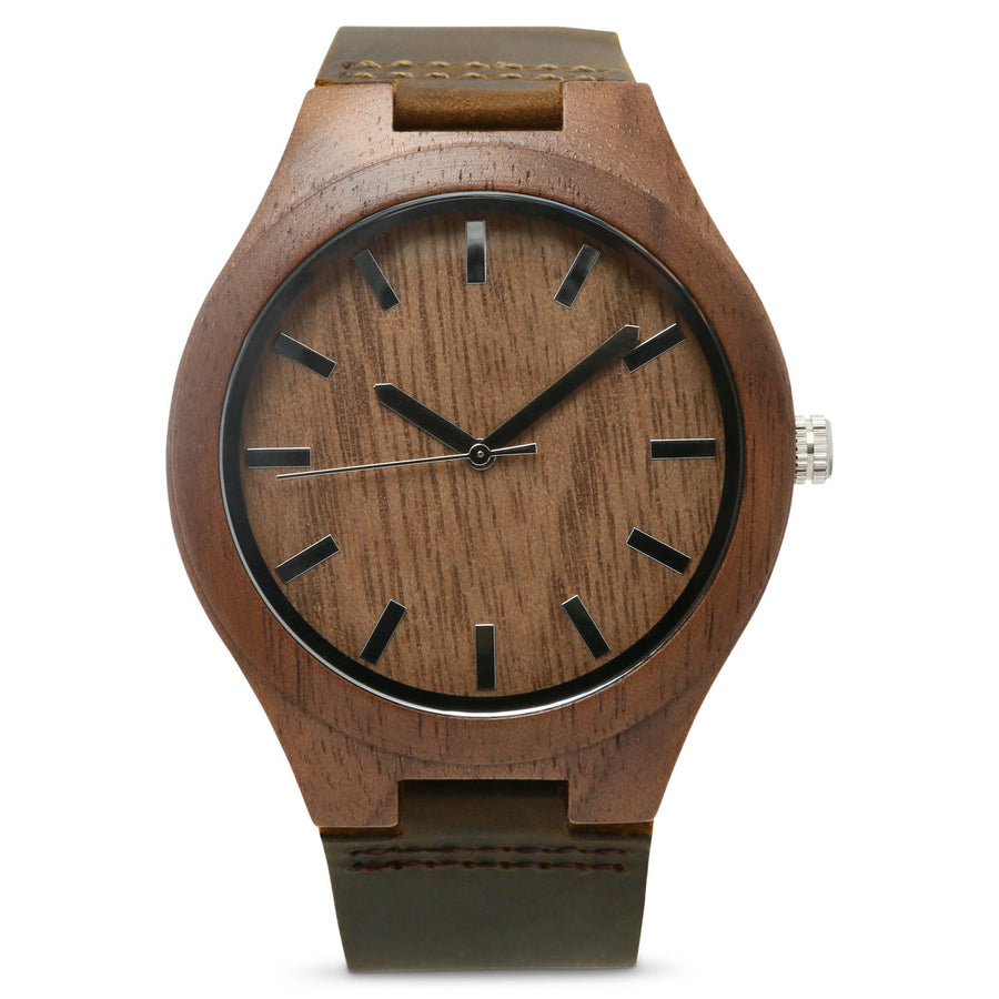 The Burton | Set of 4 Groomsmen Watches Grain and Oak