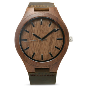 The Burton | Set of 9 Groomsmen Watches Grain and Oak