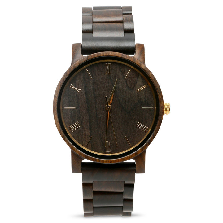 The Cedric Gold | Set of 4 Groomsmen Watches Grain and Oak