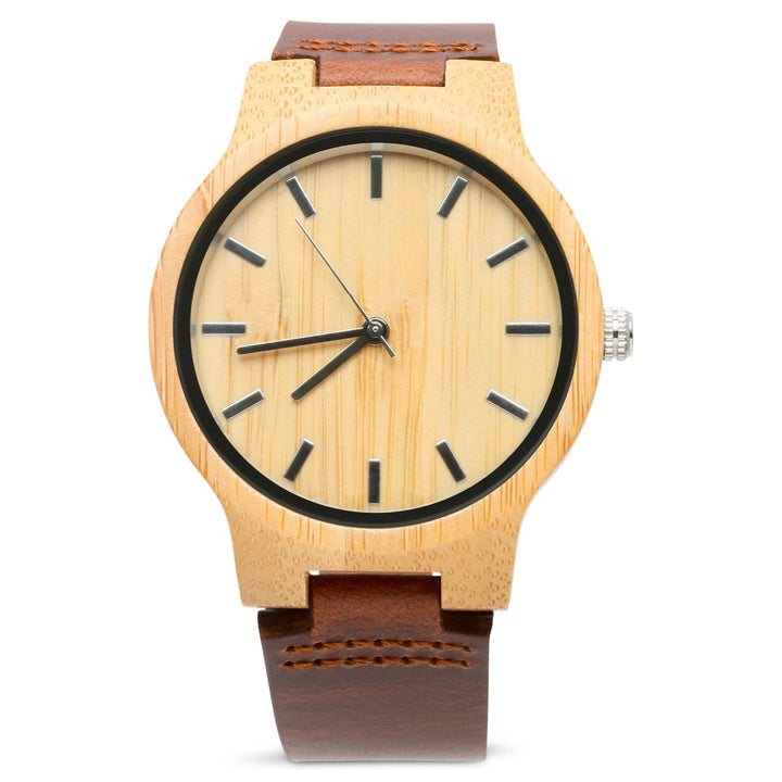 The Chester | Set of 4 Groomsmen Watches Grain and Oak
