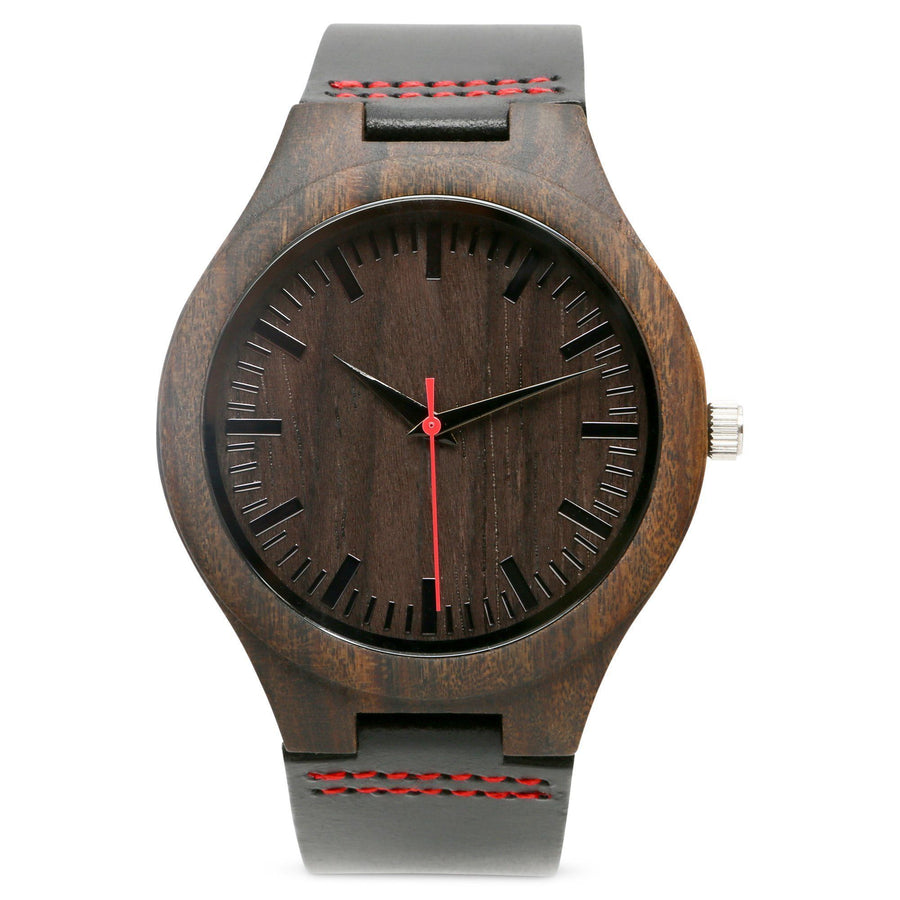The Christopher Red | Set of 6 Groomsmen Watches Grain and Oak