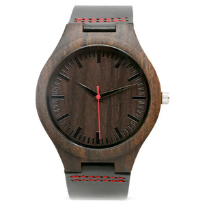 The Christopher Red | Set of 9 Groomsmen Watches Grain and Oak