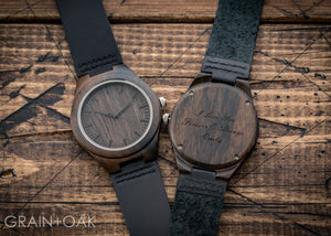 The Christopher | Set of 9 Groomsmen Watches Grain and Oak