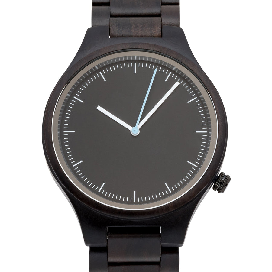 The Classic Ebony | Set of 11 Groomsmen Watches Grain and Oak