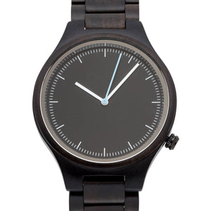 The Classic Ebony | Set of 9 Mens Watches Grain and Oak