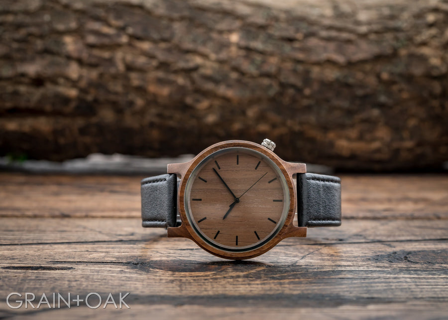 The Edwin | Set of 10 Groomsmen Watches Grain and Oak