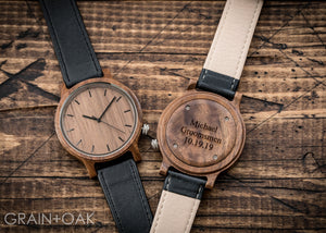 The Edwin | Set of 11 Groomsmen Watches Grain and Oak