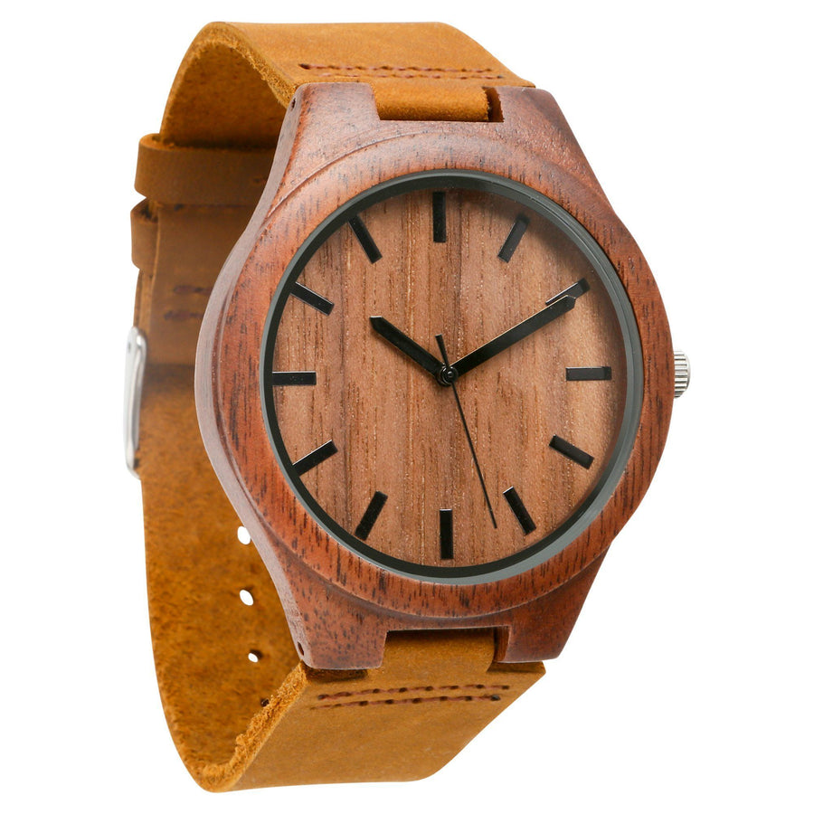The Gibson | Set of 4 Groomsmen Watches Grain and Oak