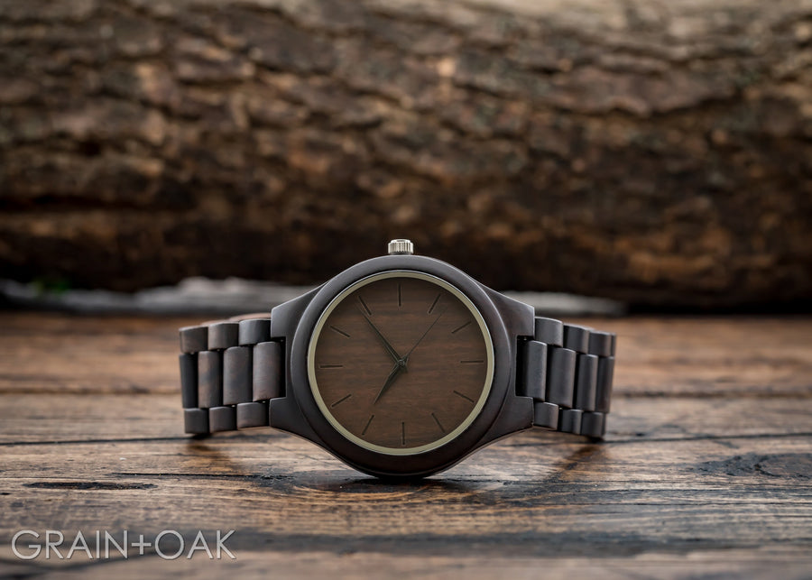 The Nash | Set of 8 Groomsmen Watches Grain and Oak