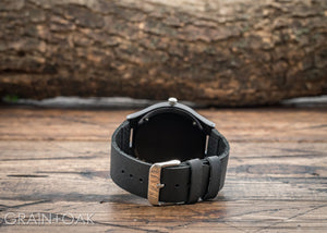 The North Ebony | Set of 8 Groomsmen Watches Grain and Oak