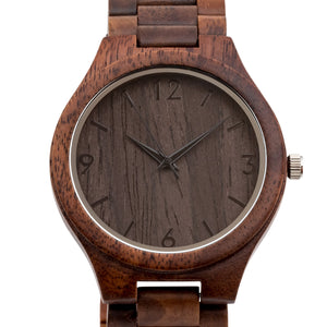 The Oliver Walnut | Set of 12 Groomsmen Watches Grain and Oak