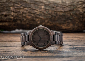 The Ridge Ebony | Set of 10 Groomsmen Watches Grain and Oak