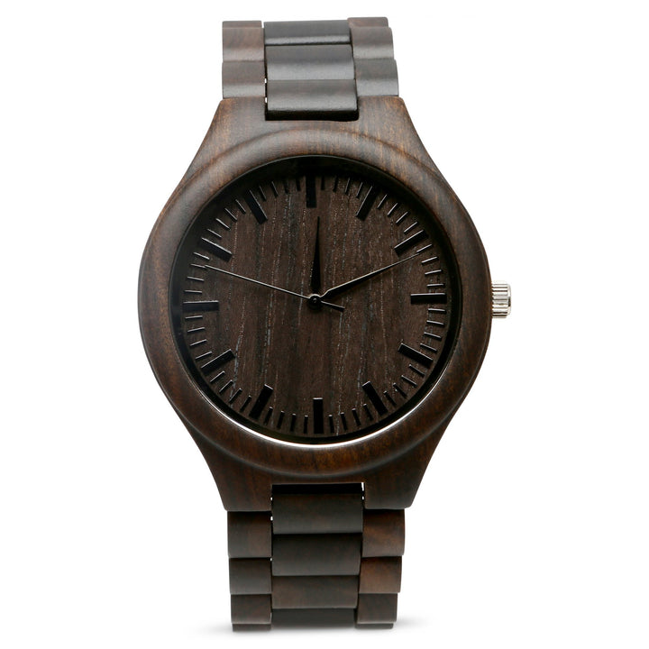 The Ridge Ebony | Set of 4 Groomsmen Watches Grain and Oak