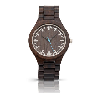 The Ridge Silver | Wood Watch Wooden Band Watches Grain and Oak