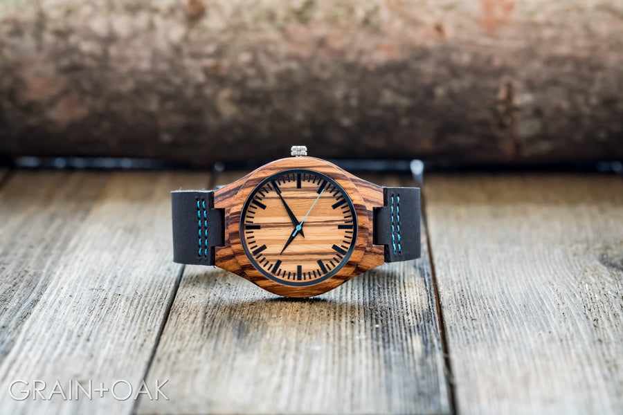The Thomas Peak | Set of 5 Groomsmen Watches Grain and Oak