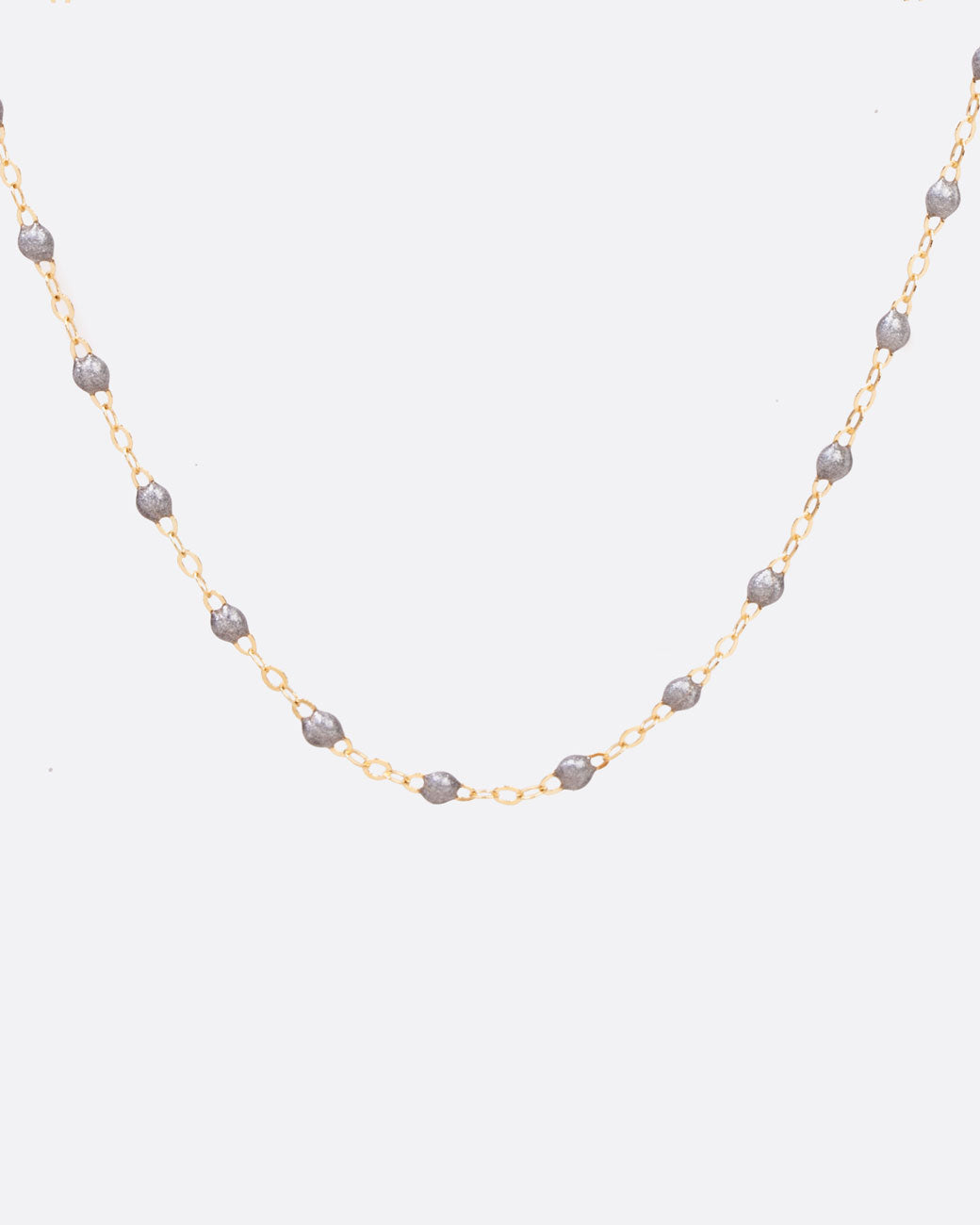 9a8c4013239 Resin Beaded Necklace - 16 Inch