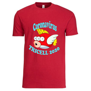 "TRICELL 215-"" COVID19 FISH ""T SHIRT"